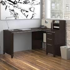 Bush Corner Desks Wonderful Bush Enterprise Commercial 60 Inch Corner Desk Mocha