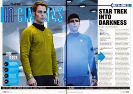 alfie russell u0027s a2 media magazine analysis 1 empire star trek