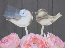 love bird wedding cake toppers rustic lovebird cake topper wood