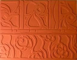 Flower Duet - pottery texture mats