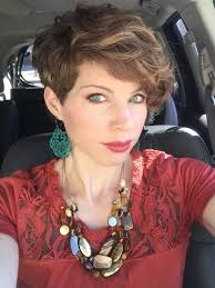 pixie haircuts for thick curly hair textured asymmetric pixie cut curly pixie hair dyt type 3 shirt