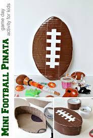 themed pinata diy mini football piñata tonya staab