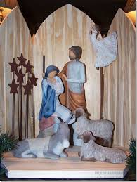 delightful order my new willow tree nativity set