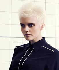 short white hair feathery short pixie haircut for white hair
