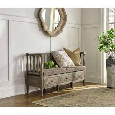 entryway bench home decorators collection gray entryway benches trunks