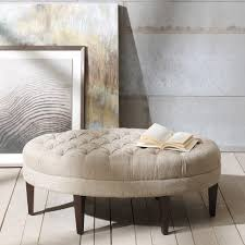 coffe table with ottoman seating large round ottoman coffee