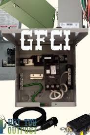tub electrical installation hookup gfci