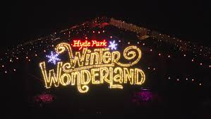 uk december 22 2016 winter in hyde park