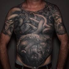 evil warrior tattoo by paul booth tattoonow