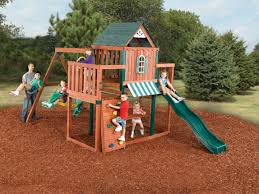 Sears Backyard Playsets Winchester Swing Set Winchester Play Set Swing N Slide