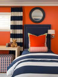 bedroom navy blue and orange bedroom with orange kids bedroom