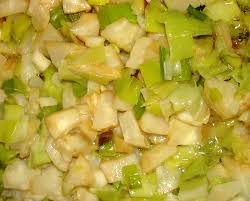 cuisiner le celeri le mariage poireaux céleri en poêlée ou en gratin
