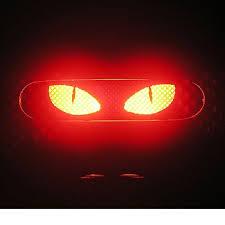 jeep wrangler brake light cover amazon com cat eyes 3rd third brake light vinyl decal mask kit