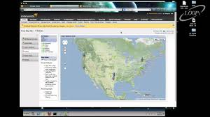 Google Maps Austin Tx by Solarwinds Google Maps Integration Loop1 Systems Youtube