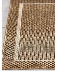 Woven Outdoor Rugs Amazing Deal On N A Grace Woven Indoor Outdoor Rug Size 63x88