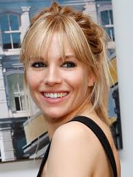 whatbhair texture does sienna miller have sienna miller will make you fall in love with the high ponytail