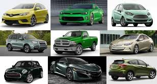 cool car colors which 2017 models are available in green the