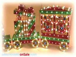 Outdoor Christmas Decorations On Sale by Outdoor Christmas Train Decoration Youtube