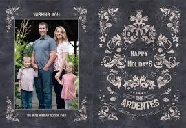 modern family christmas card christmas lights decoration