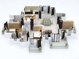 Dlf New Town Heights Sector 90 Floor Plan Rent 4 Bhk Flat Apartment In Dlf New Town Heights 1 Sector 90