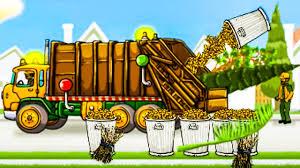 garbage trucks for toddlers trash truck videos rubbish trucks