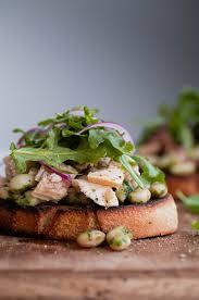 Tuna Salad Mediterranean Style Mediterranean Tuna Tartines With Video A Beautiful Plate