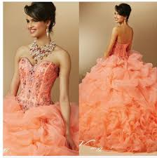 sweet16 dresses for 15 year old 2017 cheap coral quinceanera