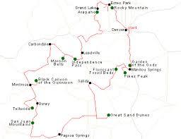 southwest usa itineraries colorado rockies
