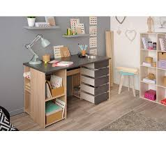 mobilier de bureau dijon bureau diy kreatif gris et chêne bureaux but