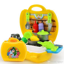 topfset kinderk che 2018 kitchen playset pretend cooking food set with