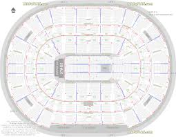 arena floor plans nationwide arena seating chart with rows and seat numbers