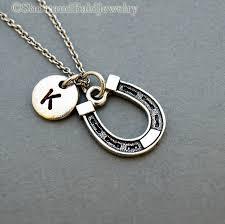 personalized horseshoe horseshoe necklace horseshoe personalized horseshoe antique