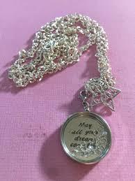 all swarovski crystal necklace images Star swarovski crystal inscription may all your dreams come jpg