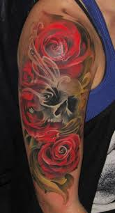 skull rose tattoo designs tattoo design pictures