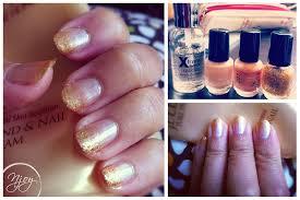 gold gradient nail design n j o y d e s i g n