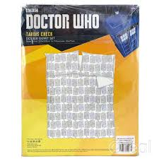 Dr Who Duvet Bbc Doctor Who All Over Sketch Check Tardis Print Double Duvet Cover