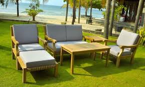 Teak Patio Furniture San Diego by 6 Piece Teak Indonesian Outdoor Patio Furniture Chair Table Set