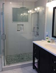 bathroom renovations alexandria carbide construction glass shower