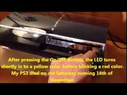 ps3 yellow light of death fix how to fix your ps3 after the yellow light of death or blinking red