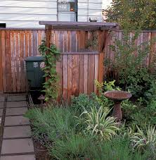 Backyard Garbage Cans by Simple Ways Hide Outdoor Garbage Cans Home Design By Fuller