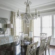 Dark Dining Room Dark Dining Table With White Dining Chairs French Dining Room