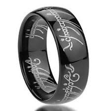 lord of the rings wedding band lord of the rings wedding band ebay