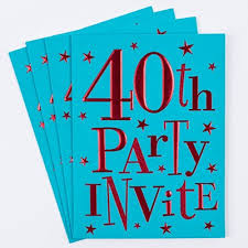 18th birthday party invitation cards pack of 10 only 1 49