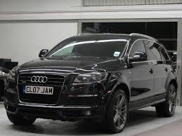 2007 audi q7 quattro used audi q7 car 2007 black diesel 3 0 tdi quattro s 4x4 for sale