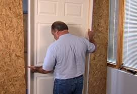 Interior Door Fitting How To Install Interior Door At The Home Depot