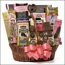 gourmet chocolate gift baskets chocolate gift basket mothers day gift idea