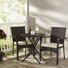 resin wicker patio dining sets you u0027ll love wayfair