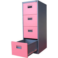 Pink Filing Cabinet Pink Color 4 Drawer Filing Cabinets Metal Buy 4 Drawer