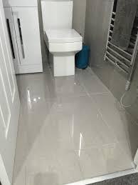 Porcelain Kitchen Floor Tiles Doblo Light Grey Polished Porcelain Floor Tiles From Tile Mountain