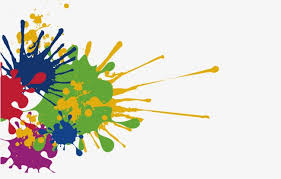 vector colorful paint color ink colorful ink spray paint ink